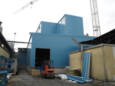 Modularsystem - cella industriale TN h 25 m