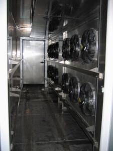 Sursystem - interior de la cámara